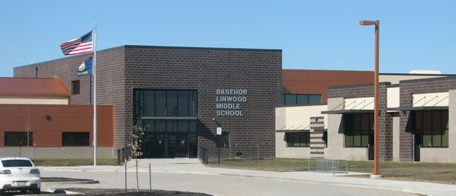 Basehor-Linwood Middle School is located at 15900 Conley Rd., south of Basehor.