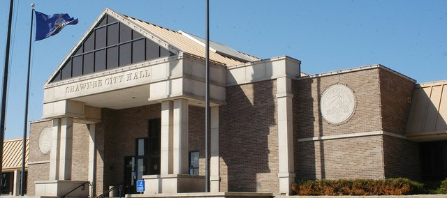 File photo. Shawnee City Hall is located at 11110 Johnson Drive.