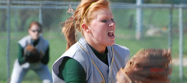 Basehor-Linwood&#39;s Brooke Redmond was the Kansas City Metro Player of the Year in 2010 when she went 18-0 as a pitcher and helped BLHS win a state championship.