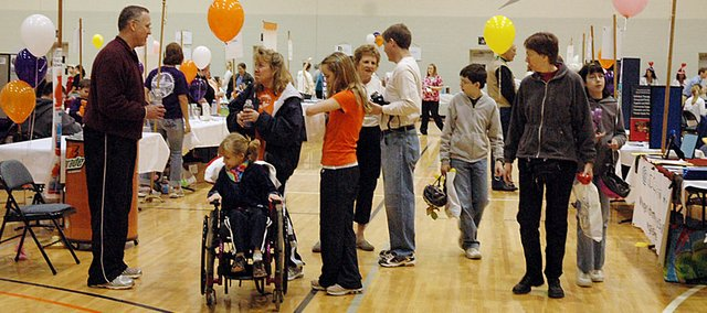 The Community Wellness Festival is set for Saturday morning at Collins Gym on Baker University's campus.