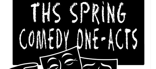 THS Drama and Music departments present two one-act comedies April 8 and 9, 2011, at Tonganoxie Performing Arts Center.