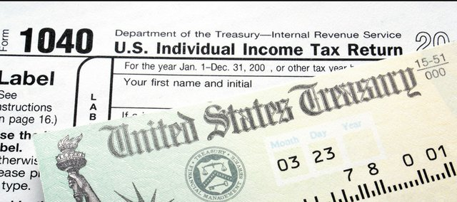 Tax day is Monday, April 18, this year.