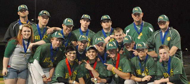 The Basehor-Linwood Bobcats are the 2011 Butch Foster Memorial Baseball Classic champions. The Bobcats beat Holton in the finals, 8-3.