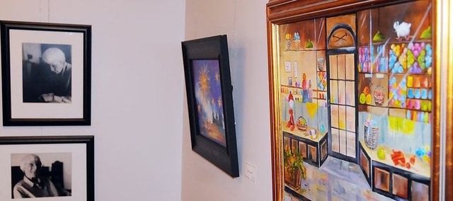 Oil paintings by Mary Brungardt are on display in the Lumberyard Art Center. The opening reception for Brungardt and TJHarrisons dual exhibit will take place from 6-8 p.m. Friday.