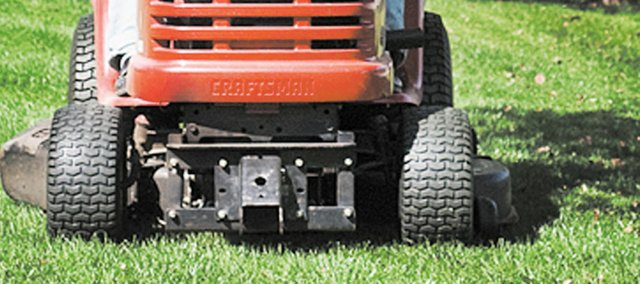 Properly mowing your lawn requires more than just running the mower over your grass once a week.