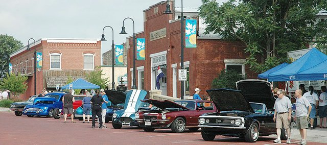 Baldwin City will be filled with classic cars and motorcycles, among other vehicles, Saturday during the annual Planes, Trains and Automobiles event.
