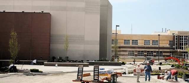The new USD 348 Performing Arts Center was one of the projects from the November 2008 bond issue. Approximately $1 million of the $22.9 million bond will be unused and transferred to the district's bond and interest fund to help offset the increased mill levy.