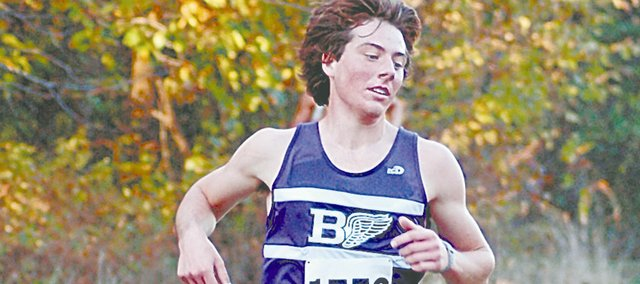 Tony Weiss, a 2011 Baldwin High School graduate, was chosen as the Baldwin City Signal's male athlete of the year from Baldwin High School. Weiss was a four-time all-state runner in cross country and a three-time all-state runner in track for the Bulldogs.