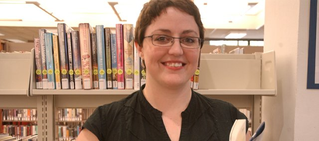 Kelly Fann, who will start as Tonganoxie Public Library's new director Sept. 1, says she looks forward to becoming involved in a community much like her hometown of Ellinwood.