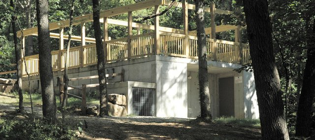 This camping season, the nearly 15,000 Scouts and leaders who attend summer camp are making use of 11 FEMA Severe Storm Shelters. Officials with the Boy Scouts Heart of America Council say the shelters are the first of their kind to be constructed in a Scout camp.
