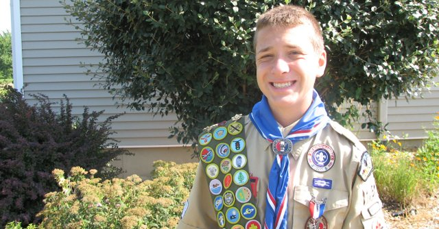 Eagle Scout Jeff Storms.