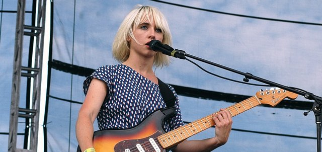 The Joy Formidable performs Friday at Kanrocksas Music Festival.