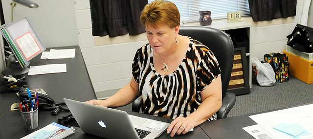 Baldwin Junior High School Principal Tammy Thomasson is ready to put more of her personal stamp on the school in her second year.