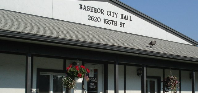 Basehor City Hall is at 2620 N. 155th St.