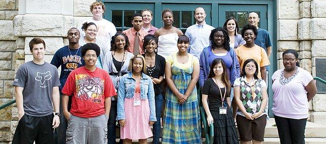 Sixteen students participated in Baker University's five-week Summer Bridge Program.