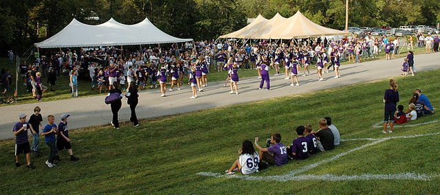 Baldwin High School's 12th annual Bulldog Bash is set to begin at 5 p.m. Friday northwest of Liston Stadium. The annual event draws a large crowd every year for the first home football game.
