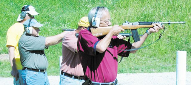 Target practice within the city limits of Bonner Springs may be outlawed. City Council members are studying the issue and will discuss it in the coming weeks.