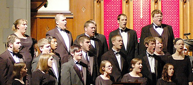 The Baker University Department of Music will perform its 81st annual Candlelight Vespers at 4 and 7:30 p.m. Sunday at Baldwin First United Methodist Church.