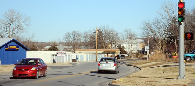 The intersection of U.S. Highway 56 and Sixth Street to the north is in for major changes in the year ahead as the city and county joint a project to improve the street north to Douglas County State Lake road.