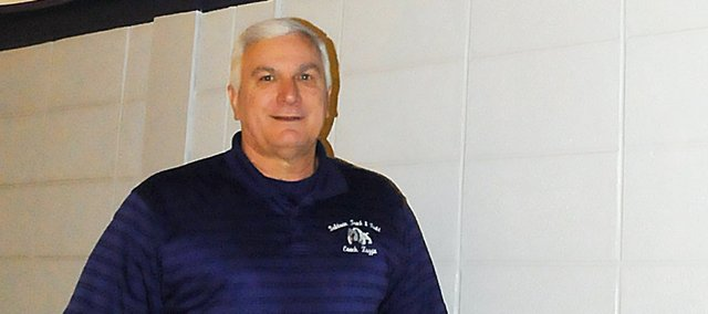 Ted Zuzzio, longtime Baldwin High School girls track and field coach was honored Monday when he was named the 2011 National Federation of State High School Associations' Coaches Association National Coach of the Year for Girls Outdoor Track and Field.