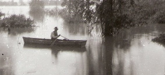 Historical photos, like the one above taken in Edwardsville during the 1903 flood, now can be found online through the Bonner Springs Library's new series of ketes. A kete is free, open source software that allows users to create and share information online