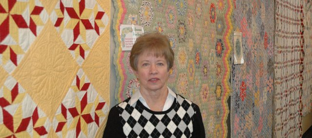 Charlya Cooley's family quilts have been on display at the Bonner Springs City Library for the month of January.