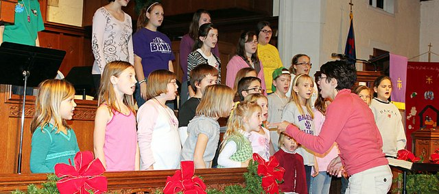 The Baldwin Community Children's Choir will perform this spring in New York City.