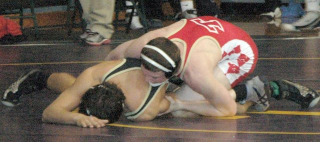 Senior Matt Soetaert is one of four Chieftain wrestlers entering Friday's regional meet as a top seed.