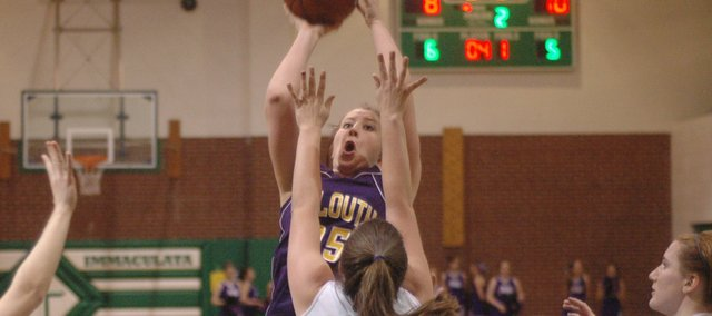 Kaitlyn Hullinger scored nine points, but the MHS girls lost to Immaculata.