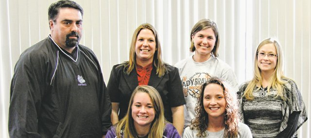 Kylee Timberlake, a Bonner Springs senior, this month signed a letter of intent to play softball with Kansas Wesleyan University.