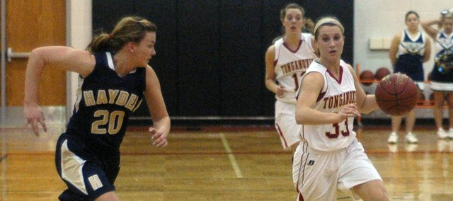 Hannah Kemp scored 12 points to help Tonganoxie to a 48-38 win over Hayden in the sub-state semifinals.
