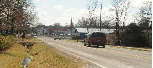 The start of the $4.3 million Sixth Street reconstruction project has been delayed until late April because of easement acquisition issues. The work which will had a turn lane to the street from U.S. Highway 56 north to Douglas County Route 12 is now slated to start in late April.