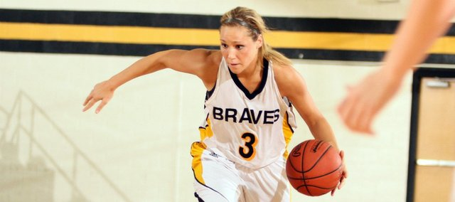 Tonganoxie High grad Shannon Carlin recently finished her final basketball season at Ottawa University.
