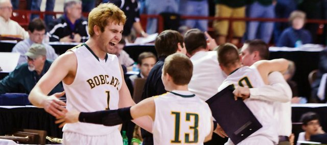 The Basehor-Linwood boys won a Class 4A state title Saturday in Salina.