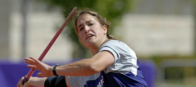 Ali Pistora, a 2007 Tonganoxie High grad, recently wrapped up her track and field career at Kansas State.