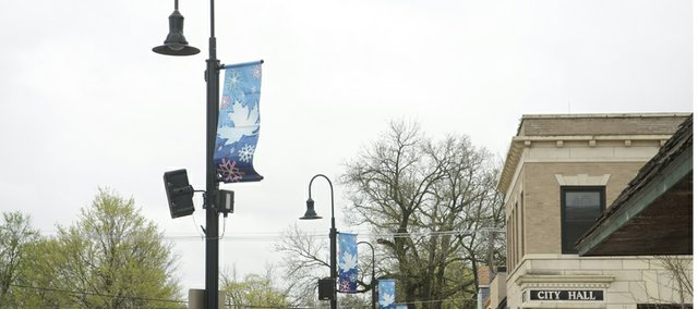 The Baldwin City Council on Monday approved spending the $100,000 won last year in the Take Charge Challenge. Among the projects approved is the installation of energy efficient LED lights in downtown decorative and cobra-headed street lamps.