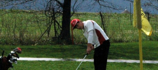 Senior Colby Yates will be on hand Saturday when Tonganoxie opens its 2012 golf season in Bonner Springs.