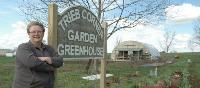 Marilee Drennan will begin her third year of operation at the Trieb Corner Garden Greenhouse with Sunday's opening.