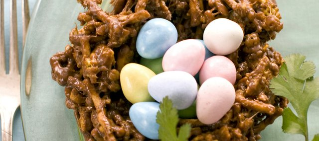 Chocolate Bunny Nests