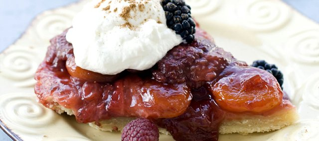 Strawberry-Apricot Tarte Tatin