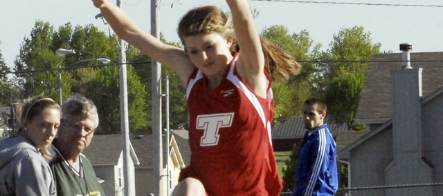 Freshman Tressa Walker finished second in the 800-meter run and eighth in the triple jump at Thursday's Bobcat Relays.
