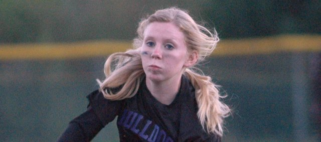 Angela Dailey threw a five-inning no-hitter Monday at ACCHS.