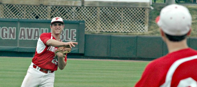 Shane Levy had two hits Thursday against Spring Hill, but Tonganoxie fell 10-1 to the Broncos.