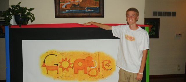 Baldwin High School senior Tucker Brown learned last month he was the Kansas winner of the Doodle 4 Google contest open to kindergarten through 12-grade students nationwide. Online voting for the finalists will conclude today at 7 p.m. Should Brown win, he'll receive a $30,000 college scholarship and a $50,000 technology grant for Baldwin High School.