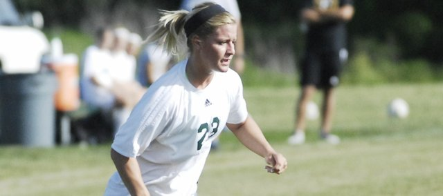 Basehor-Linwood junior Kara Stephens scored three goals to lead the Bobcats past Sumner Academy, 3-0, in the first round of the 5A regional tournament on Tuesday.
