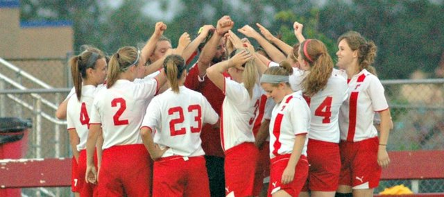 The Chieftain girls soccer team wrapped up its 2012 season with a trip to the state tournament at Rose Hill.