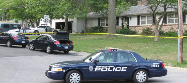 """Bonner Springs Police Department served a search warrant at this home at 505 Lakewood Thursday, May 24, and uncovered a """"significant"""" amount of methamphetamines."""