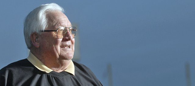 Legendary Baldwin High School football coach Merle Venable died early Thursday morning