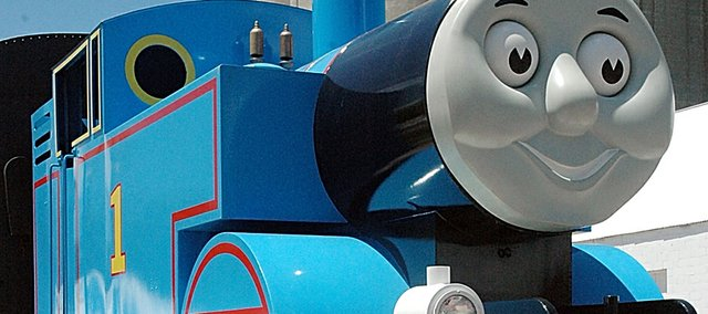 Thomas the Tank Train returns Friday to Baldwin City