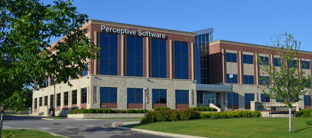 Perceptive Software has decided to leave its current headquarters (above) in Shawnee Crossings for a new building to be constructed in Lenexa City Center.